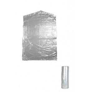Bescherm hoes kleding L 120cm per 750 stuks 18 micron transparant.