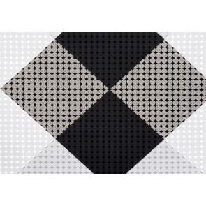 Cadeaupapier 50 cm x 100 meter zwart-wit