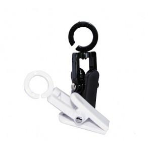 Cleverclip mini lengte 50 mm per 25 stuks Wit