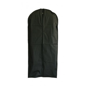 Enkele kledinghoes L 150cm met rits zwart