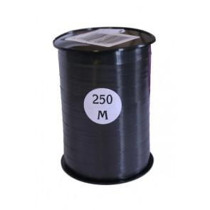 Krullint 10 mm Zwart