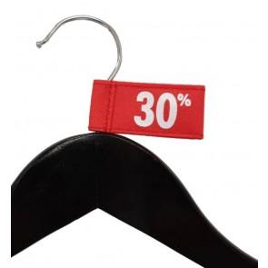 Label aanduider vaantje kledinghangers 30% thumbnail