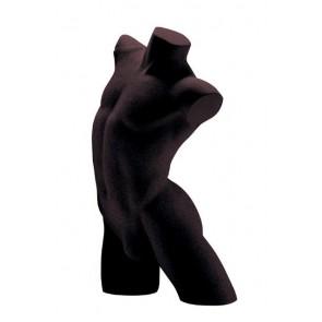 Lingerietorso man zwart zonder armen