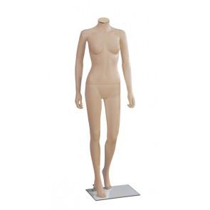 Onbreekbare dames etalagepop H2 huidskleur