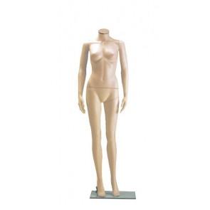 Onbreekbare dames etalagepop H4 huidskleur