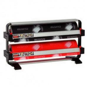 Papierrolhouder staand Legro 2 rollen rond 12.5cm breedte90 cm