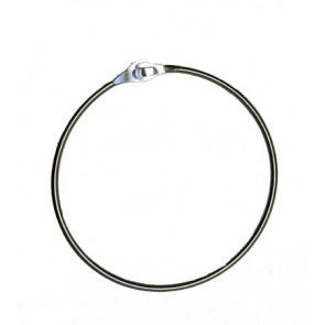 Sjaal-riem ring 12 cm verzinkt