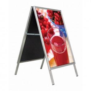 Stoepbord A2 (42 x 59.4 cm) aluminium