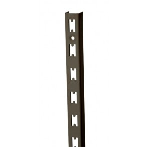 Wandrek rail antraciet 240cm hoog extra sterk
