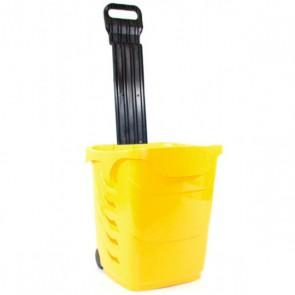 Winkelmandjes / trolleys Geel 38 Liter