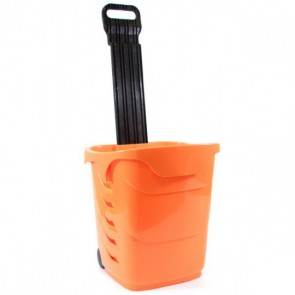 Winkelmandjes / trolleys oranje 38 Liter